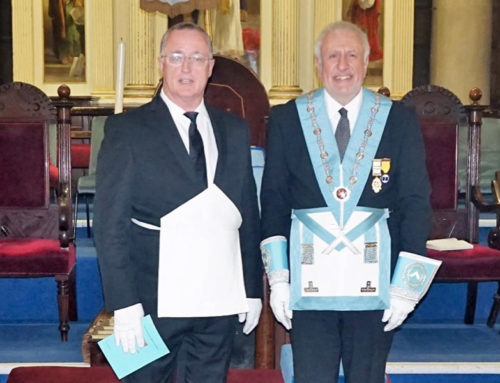 Elizabethan Lodge celebrate 400th Meeting