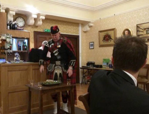 "Elizabethan Lodge enjoy a special ""Burns Evening"""