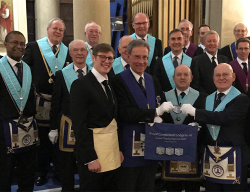 Fourth Ashlar Presented