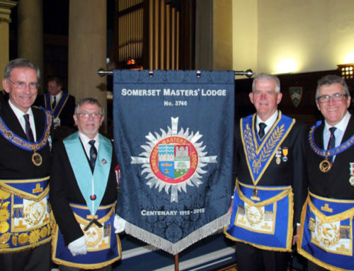 Somerset Masters Centenary Meeting & Banner Dedication