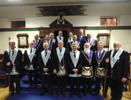 St. Alphege Lodge visit Northern Ireland