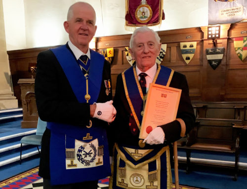 Gerald Bryant – 60 Years in Freemasonry