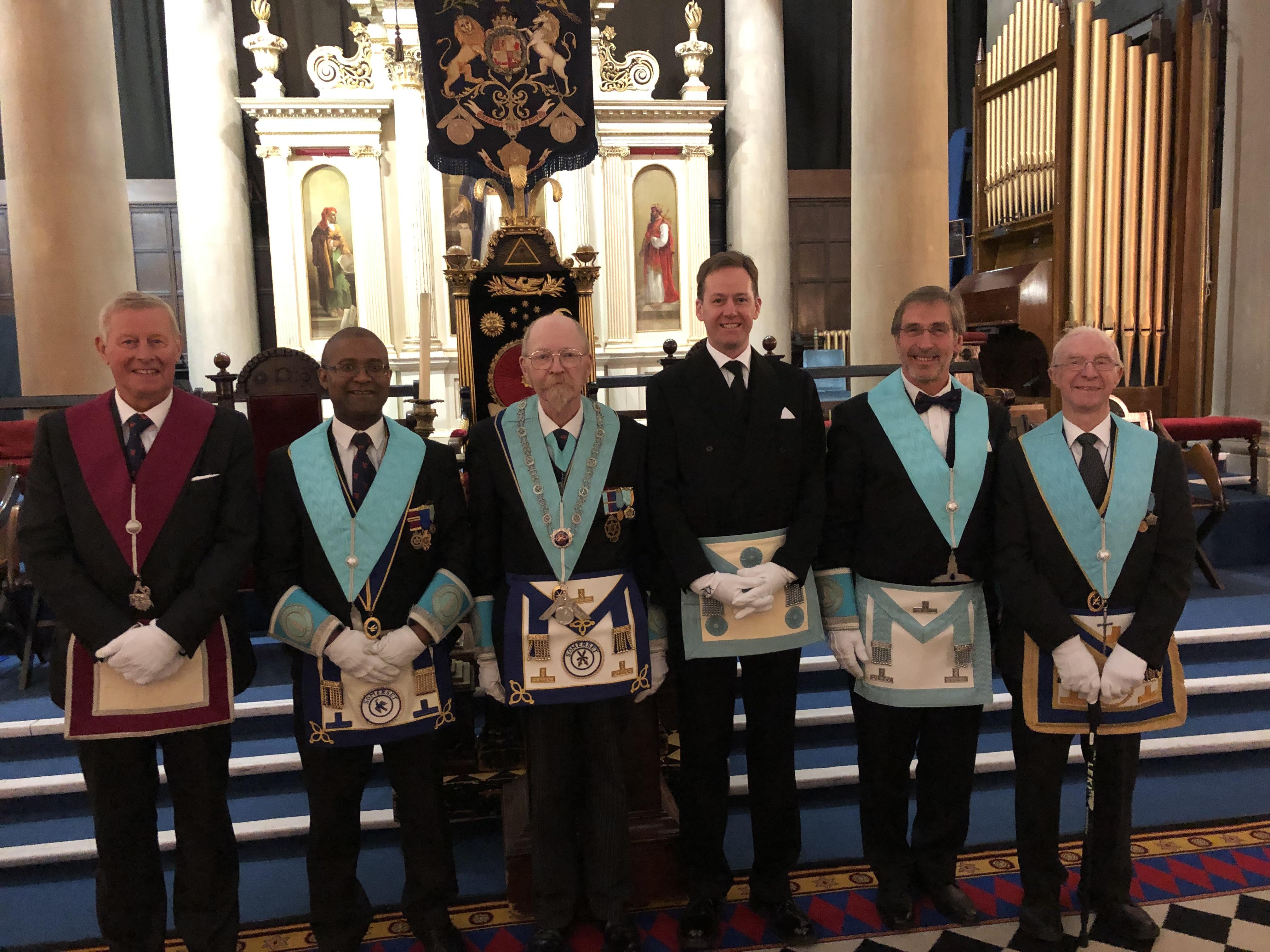 Raising Ceremony at Royal Cumberland Lodge no. 41